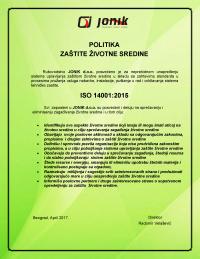 Politika ISO 140012015